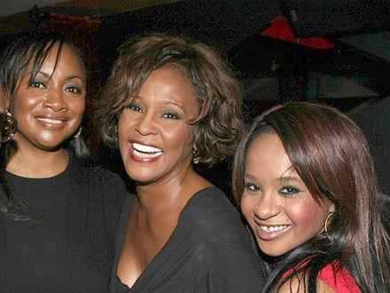 pat houston, whitney houston & bobbi kristina