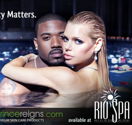 ray  j & sophie monk (princereigns advert)