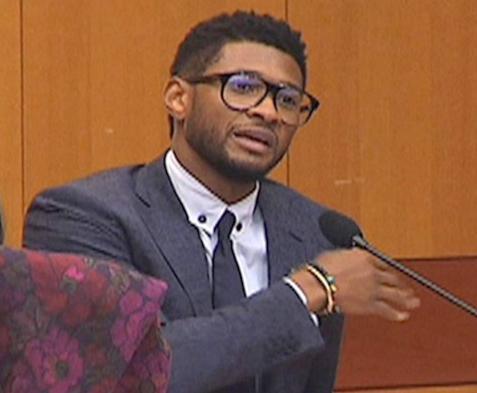 usher (in court)