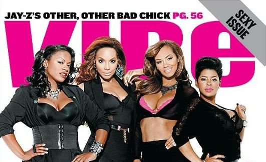 vibe cover (Evelyn, Chrissy, Kandi and Tamar)