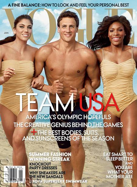 Hope Solo - Ryan Lochte & Serena Williams