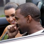 Kanye Books Revel Gigs; Drives Kim K in Paris (Photos)