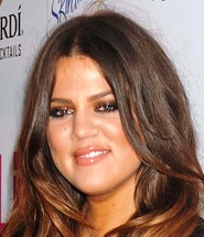 Reality star Khloe Kardashian is 28 today