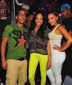 Ludacris, Monica and Eudoxia Agnan