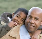 black father & son