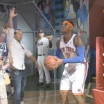 Funnee! Carmelo Anthony Tricks Patrons of Madame Tussauds Wax Museum (Video)