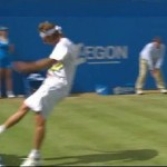 Argentinian Tennis Player Throws Hissy Fit on the Court, Disqualified (Video)