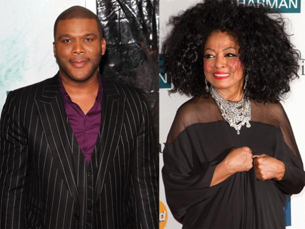 tyler perry - diana ross