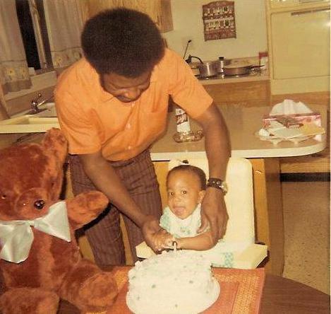 joyce davis & dad