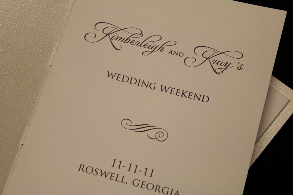 kim kroy wedding invite