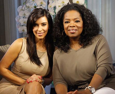 kim & oprah