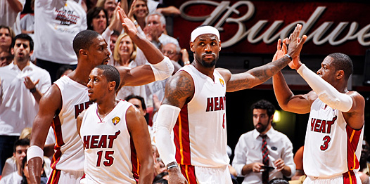 lebron & miami heat