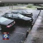Father Arrested for Car Being Stolen with His Children Inside (Video)