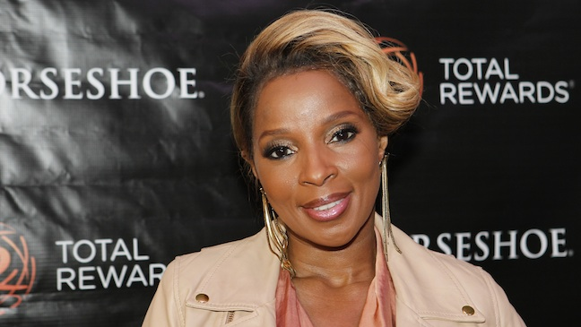 Singer Mary J. Blige is 46