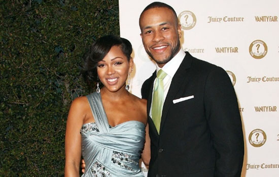 Meagan Good and her husband