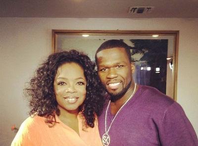 oprah & 50 cent