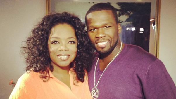 oprah winfrey & 50 cent