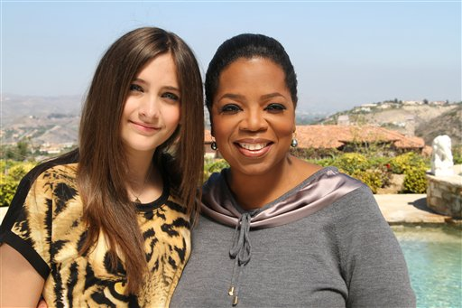 Paris Jackson & Oprah