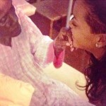 Rihanna Tweets Pics from Ill Grandma's Bedside (Photos)