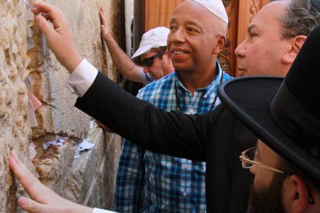 russell simmons in Israel