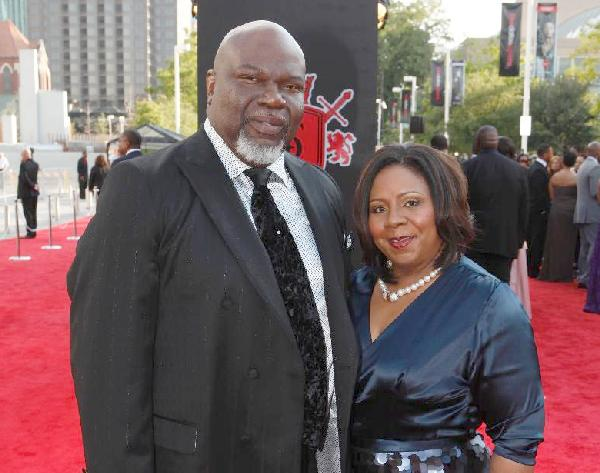 td jakes and wife