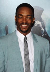 "Actor Anthony Mackie attends the ""Abraham Lincoln: Vampire Hunter"" premiere at AMC Loews Lincoln Square on June 18, 2012 in New York City"