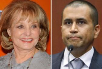 barbara walters & george zimmerman
