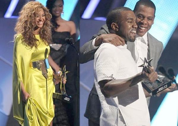 bet awards (beyonce & kanye & jay-z-wide)