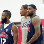 Kevin Durant Not At All Happy Being LeBron James' Olympic Teammate