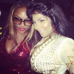 Morning Snaps! Rapper Lil Kim Parties Like A Rock Star