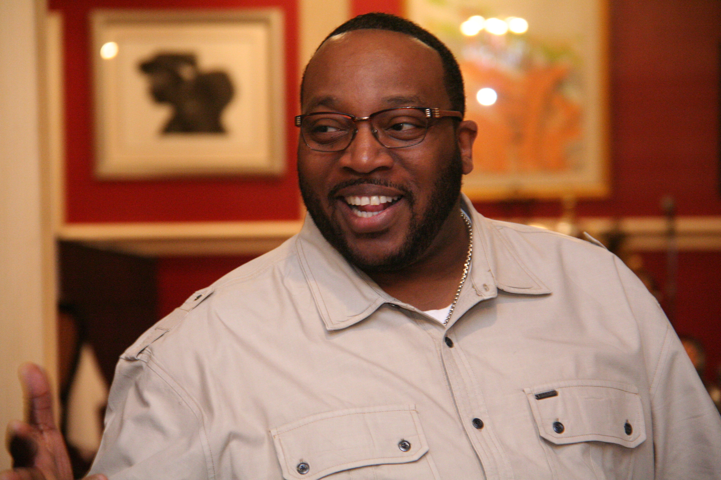Marvin Sapp at the Verizon's Celebrating Your Story and Empowering Your Network breakfast