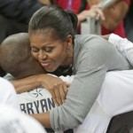 FLOTUS Has Hugs for American Dream Team After Victory Over France (Video)