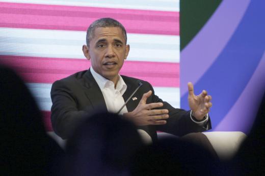 obama (sitting)