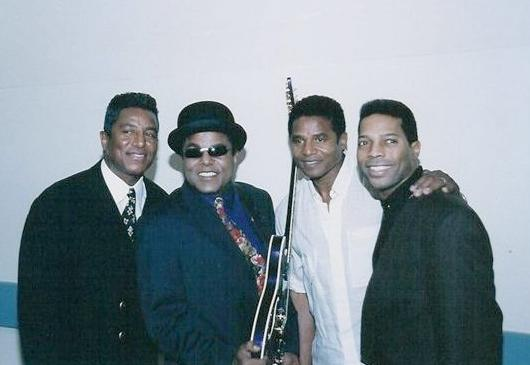 Jermaine, Tito, Jackie and Phoenix