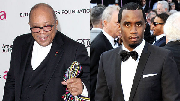 quincy jones & sean 'diddy' combs
