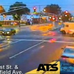 Drunk Driver Collision Caught on Video Starts Red Light Campaign (Video)