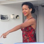 Rihanna Shows Off Her Curves In Conservative Swimwear (Look!)