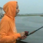 Fisherwoman's Big Catch of the Day Snapped from Her by a Shark (Video)