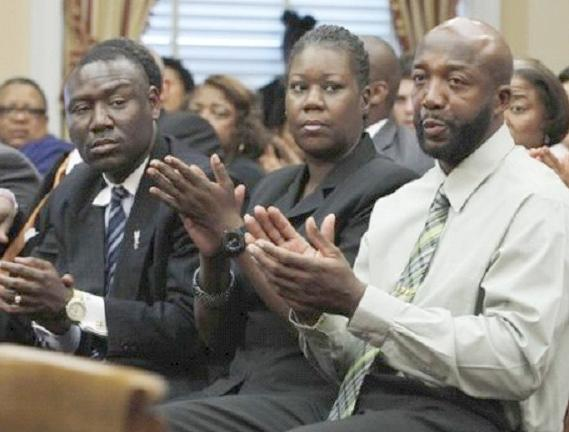 trayvon parents & lawyer