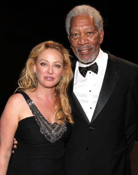 virginia madsen & morgan freeman