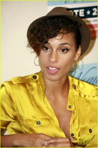 Alicia Keys Rallies for Women Voters