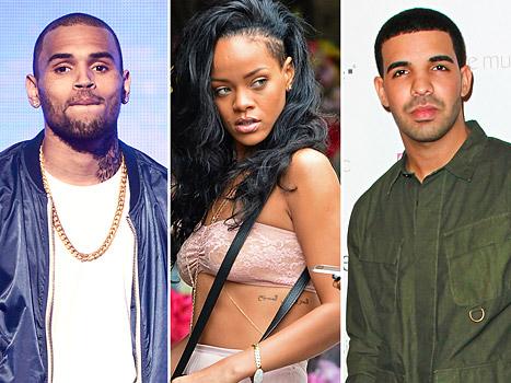 Brown Rihanna Drake