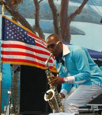 Jazz saxophonist, Eric Darius