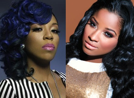 K. Michelle and Toya Wright