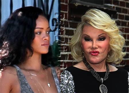 Rihanna v Joan
