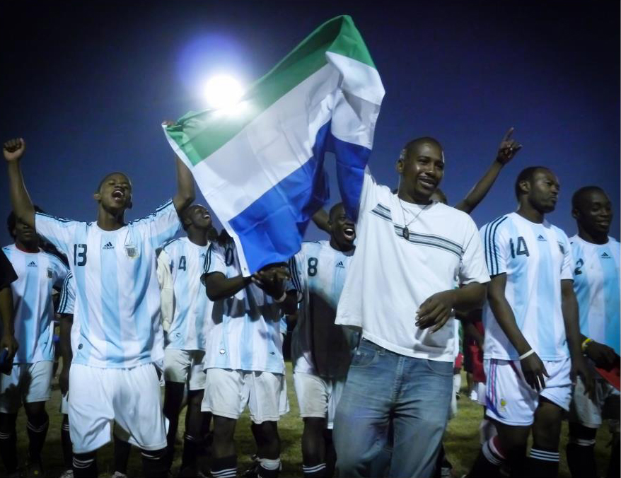 2011 L.A African Community Soccer Tournament Champs the Sierra Leone All-Stars