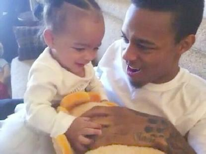 bow wow & baby daughter