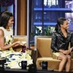 Gabby Douglas, First Lady Visit 'Jay Leno' (Video)