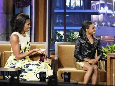 gabby douglas michelle obama tonight show