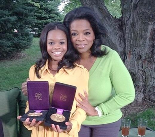 gabby & oprah